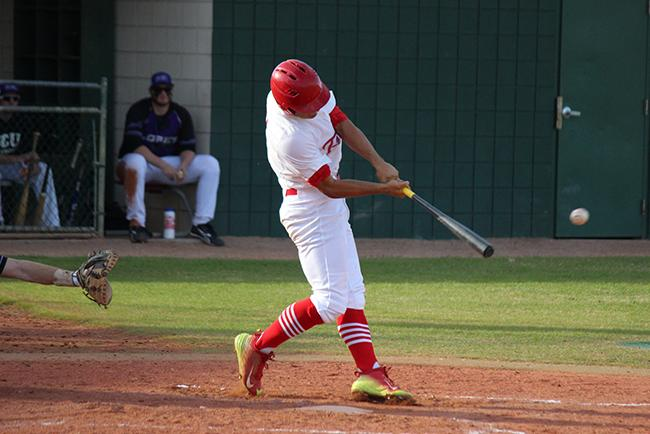 Five in a row for baseball; tops ASU club, 8-6