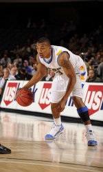 Johnson's Big Second Half Leads UCSB Past UC Davis, 77-65