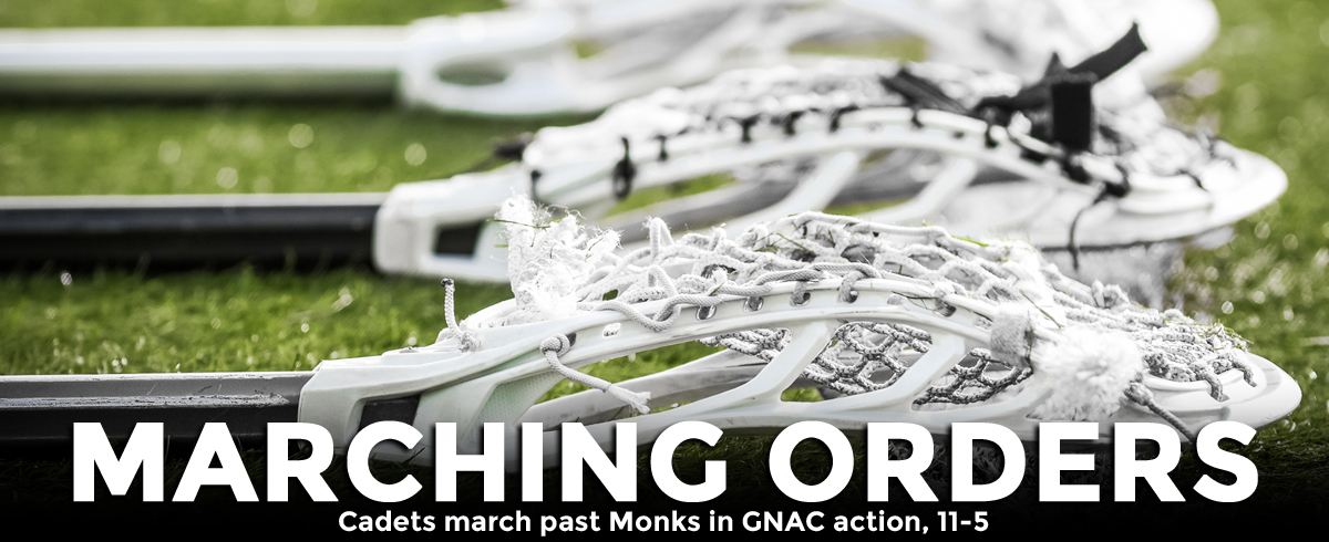 Cadets March Past Monks, 11-5
