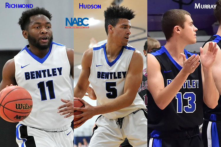 Bentley Places 3 on NABC Honors Court & Earns Team Academic Excellence Award