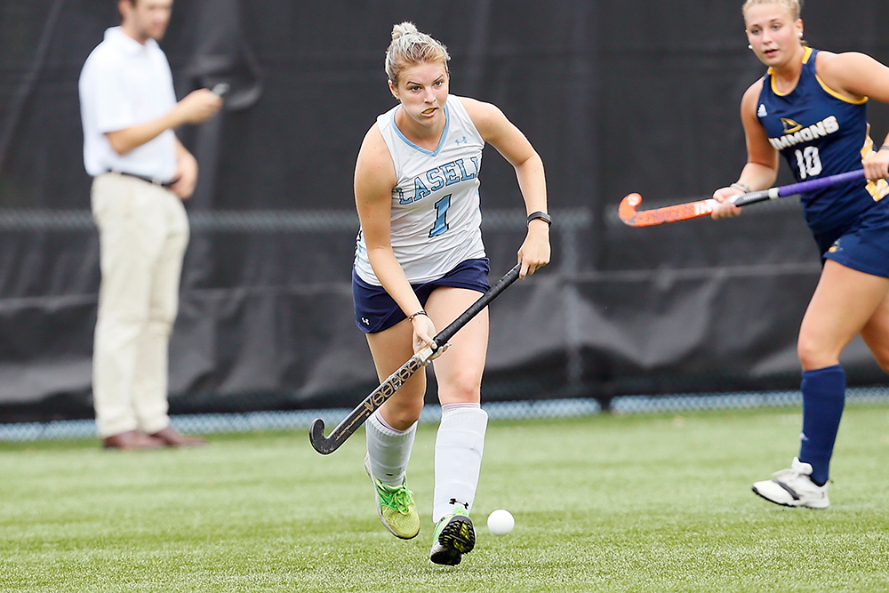 Lasell Field Hockey powers past Clark