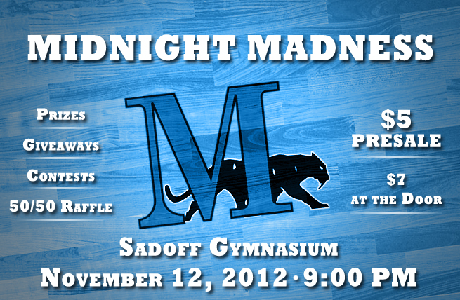 Midnight Madness Scheduled for Nov. 12