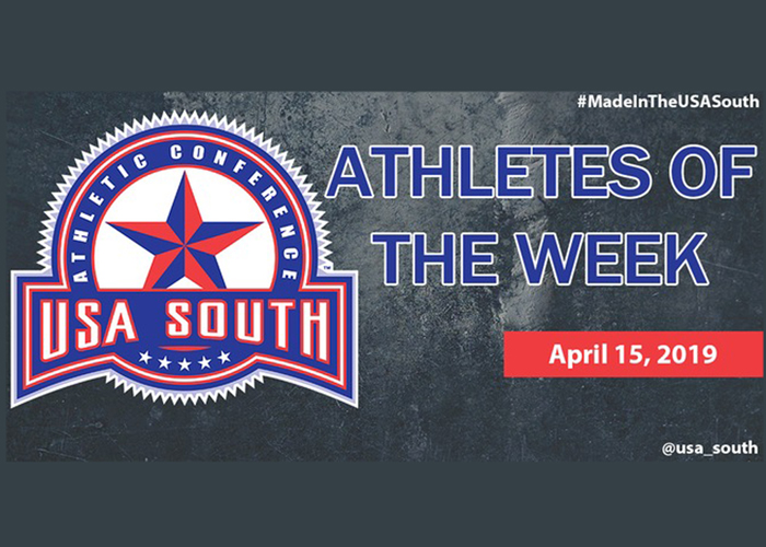 Melton named USA South Softball Pitcher of the Week