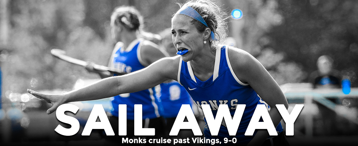 Monks Sail Past Vikings, 9-0