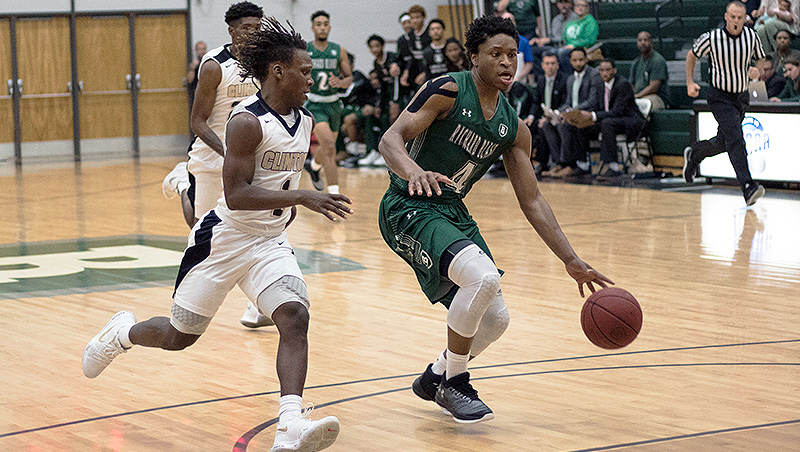 Richard Bland Falls To Visiting Bryant & Stratton 80-72