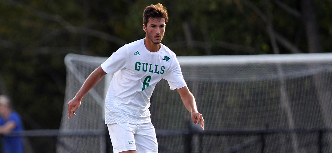 Record Shutout Streak Ends, But Men's Soccer Hangs On To Win, 2-1, Over Curry In Double-Overtime