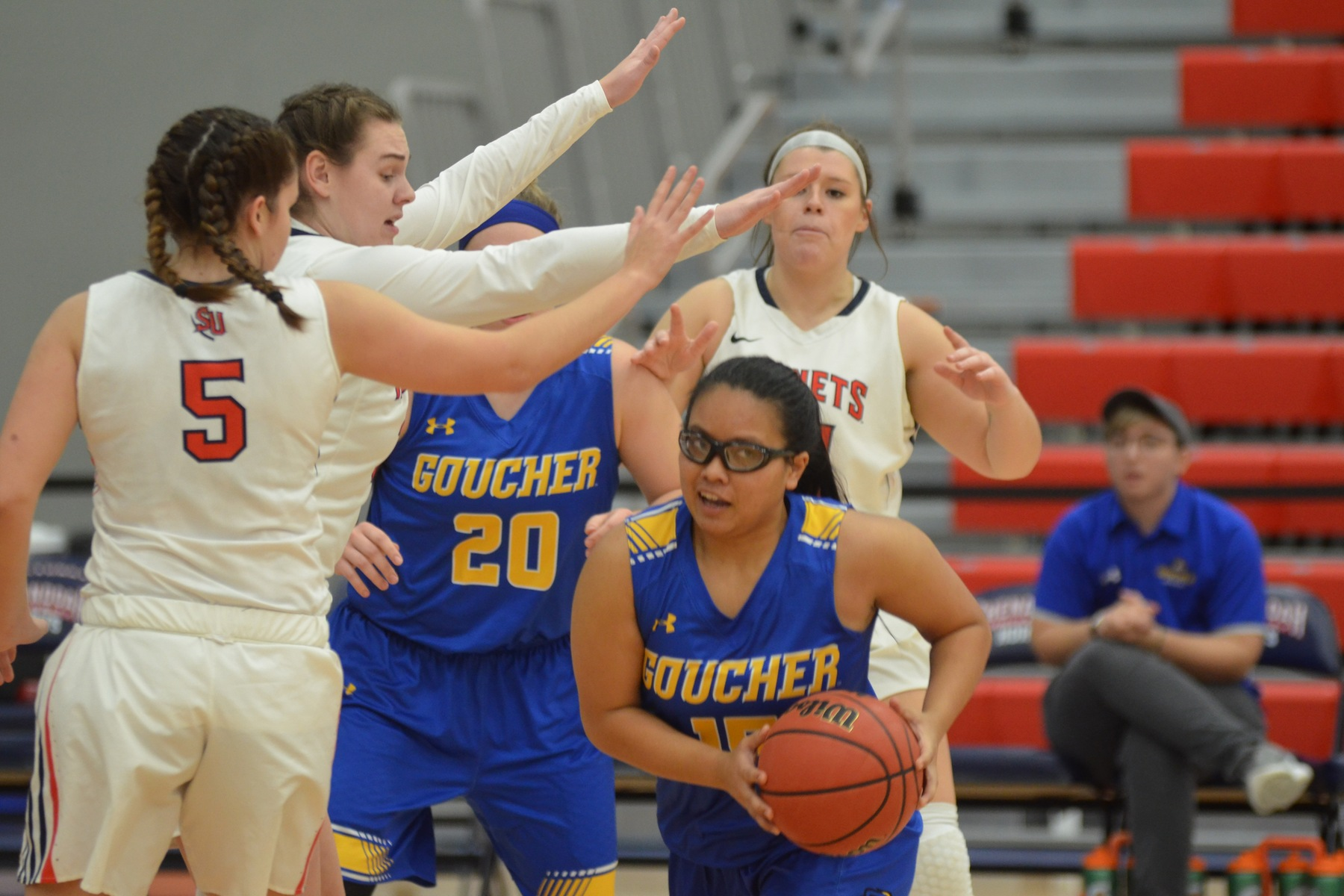 Women's Basketball Conquers Scarlet Raiders, 54-48