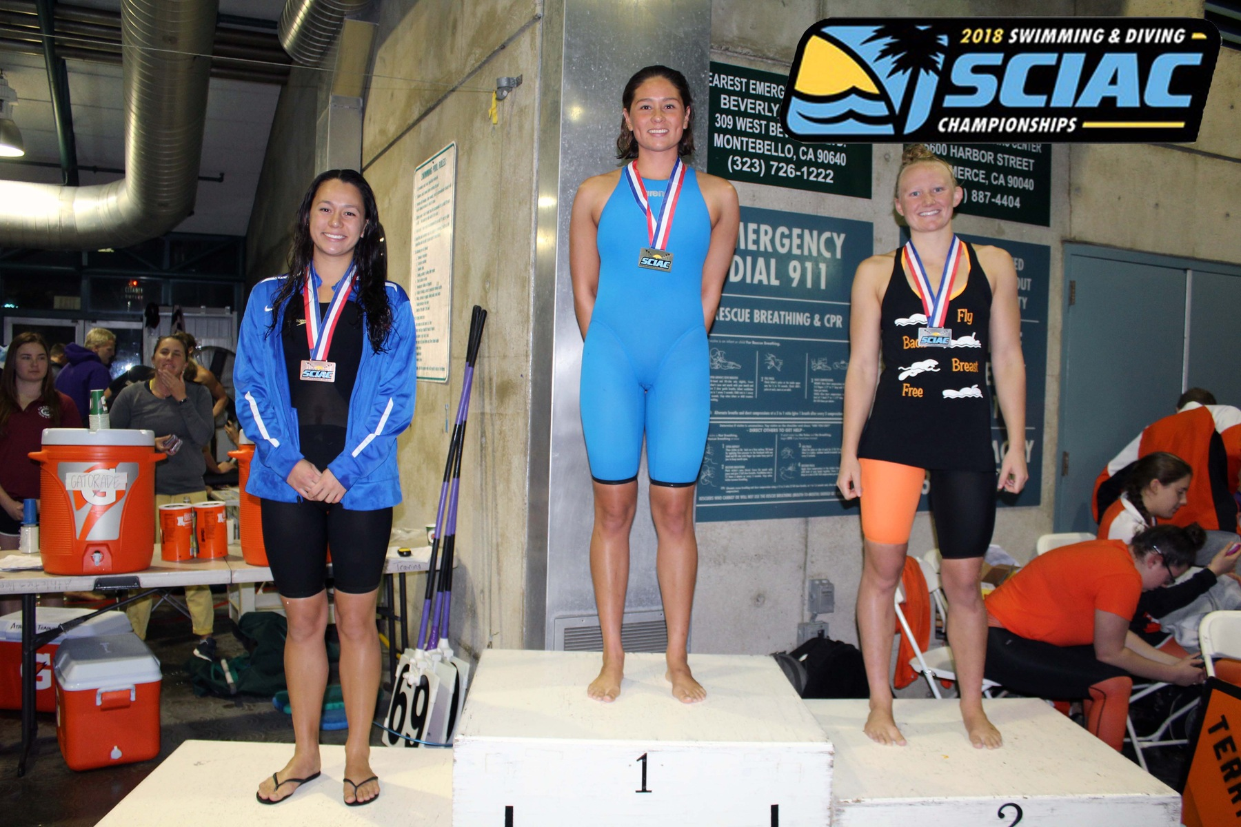 Ramirez Wins 200-Yard Free, Sets SCIAC Record