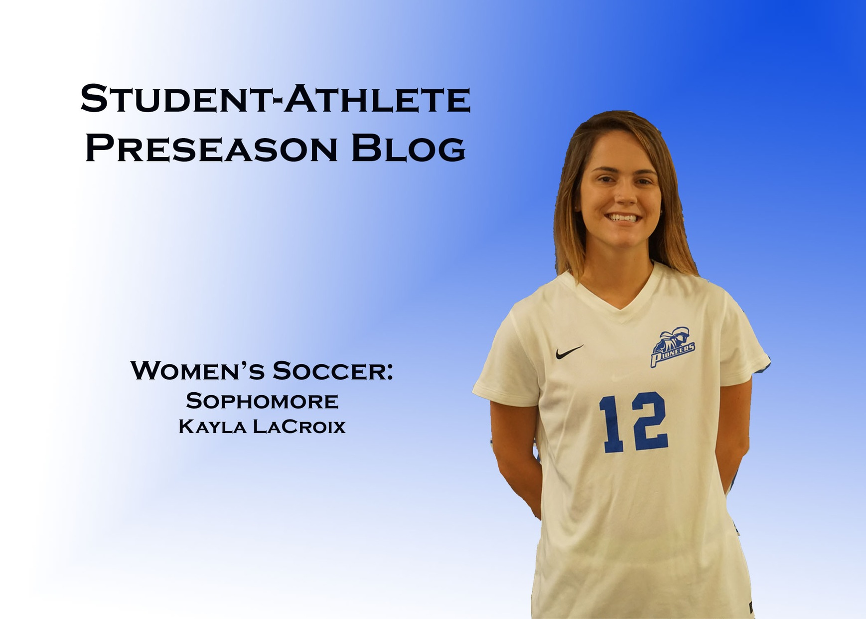 Day Two: Student-Athlete Blog