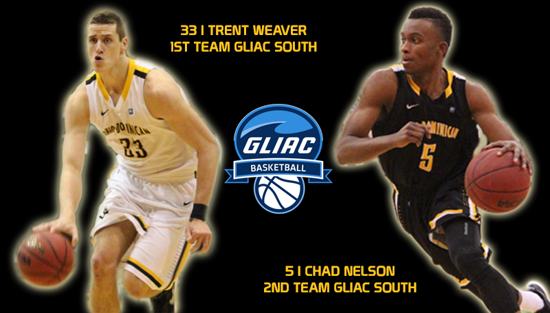 Men's Basketball Picked Fifth in GLIAC South, Receives Two All-GLIAC Selections