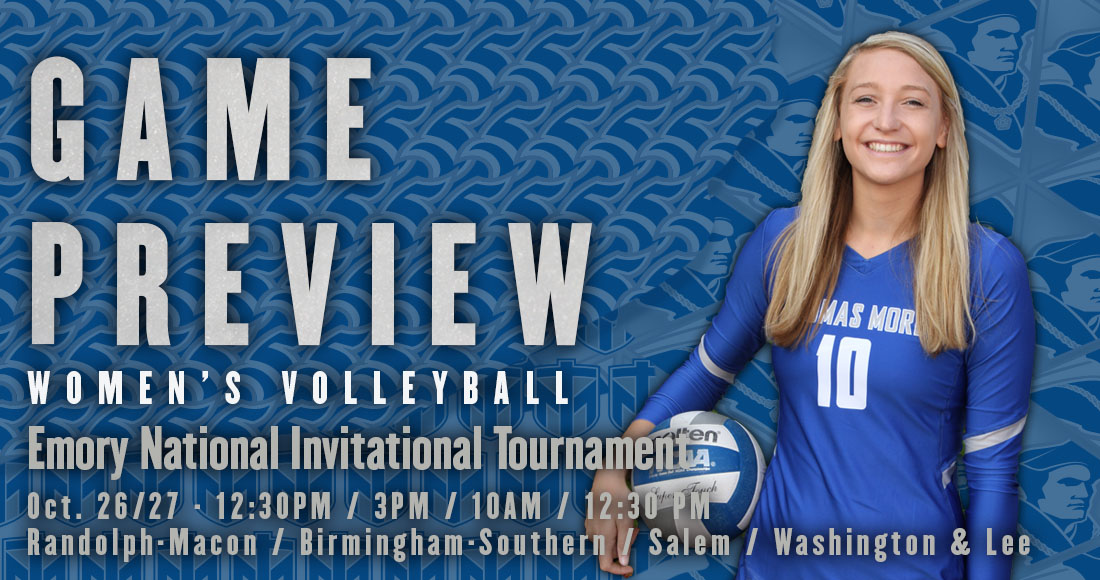 Women's Volleyball Concludes Regular Season at Emory Tournament