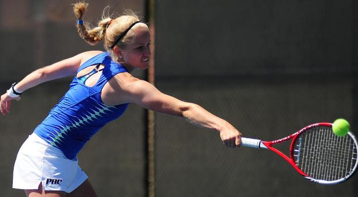 GC Women's Tennis Drops PBC Tournament Opener to FMU, 5-4