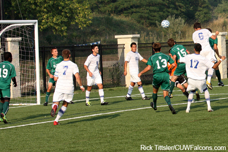 Men's Soccer Downs St. Norbert in Season Opener