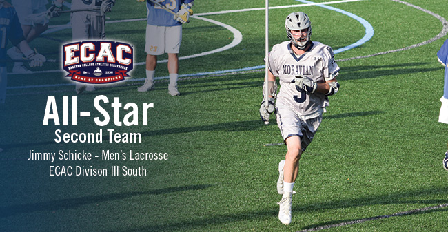 Schicke Named to ECAC DIII South Men's Lacrosse All-Star Second Team