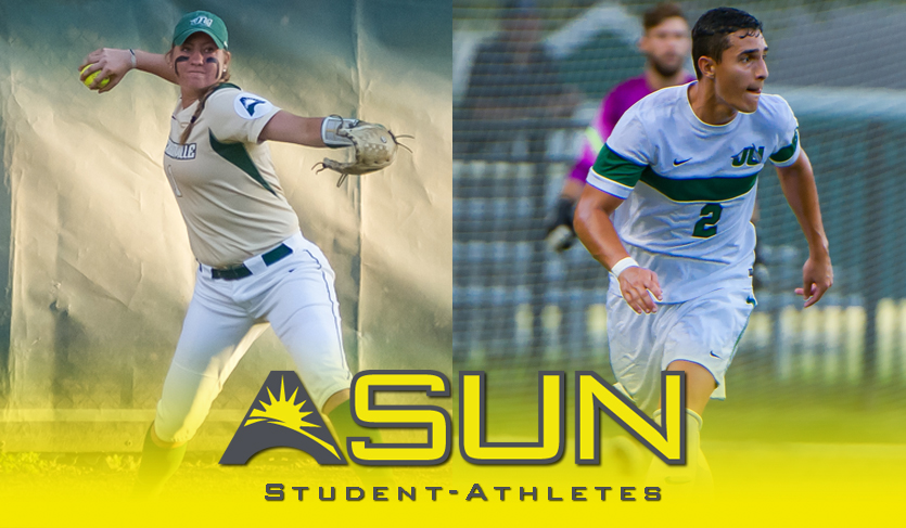 National Student-Athlete Day: Jacksonville's Jaci Hodskins & Juan Ramirez