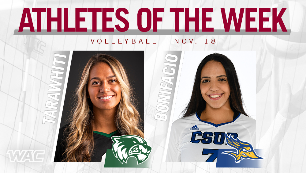 WAC Volleyball Players of the Week Announced