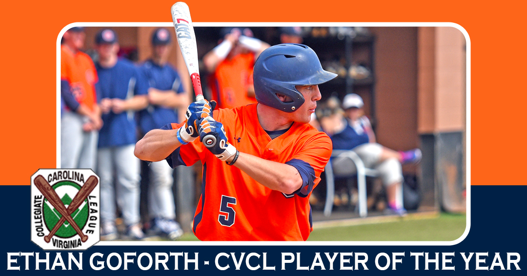 Goforth garners 2017 CVCL Player of the Year