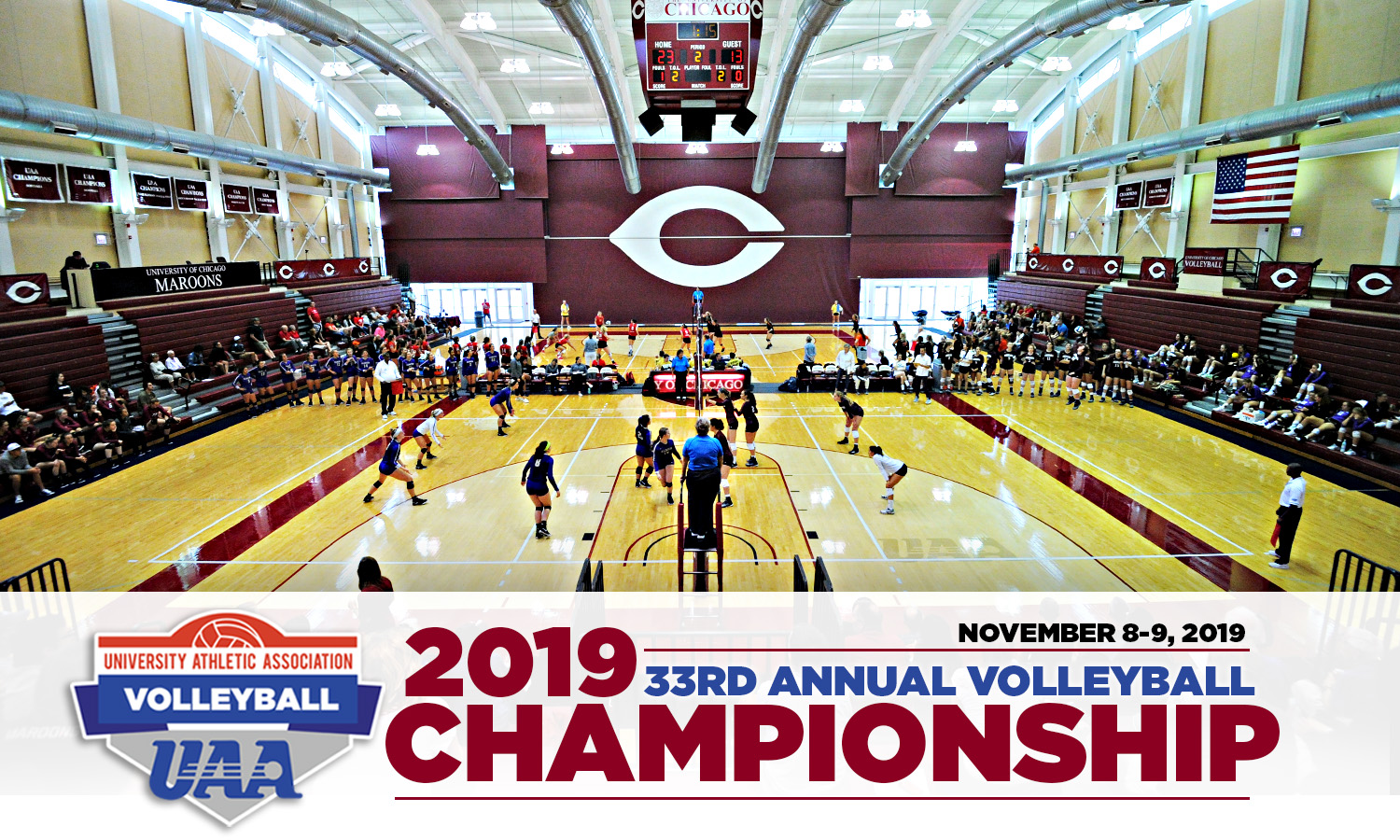 2019 University Athletic Association Volleyball Championship