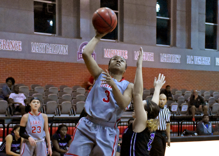 T.I. Duncan had 10 points and 11 rebounds in Tuesday's win over Agnes Scott.