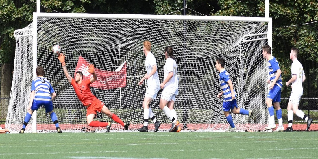 Men's Soccer Treks to Norwich to Close GNAC Campaign