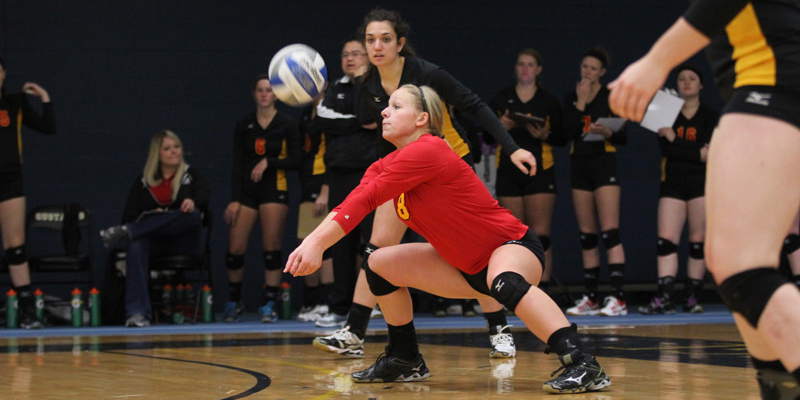 Volleyball drops a pair on first day in St. Peter