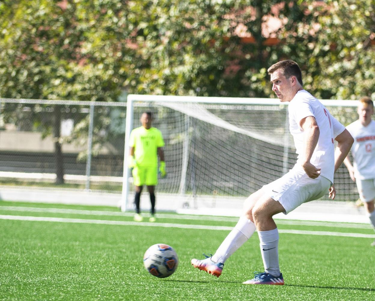 Men's Soccer Goes Toe-to-Toe with Chapman Again