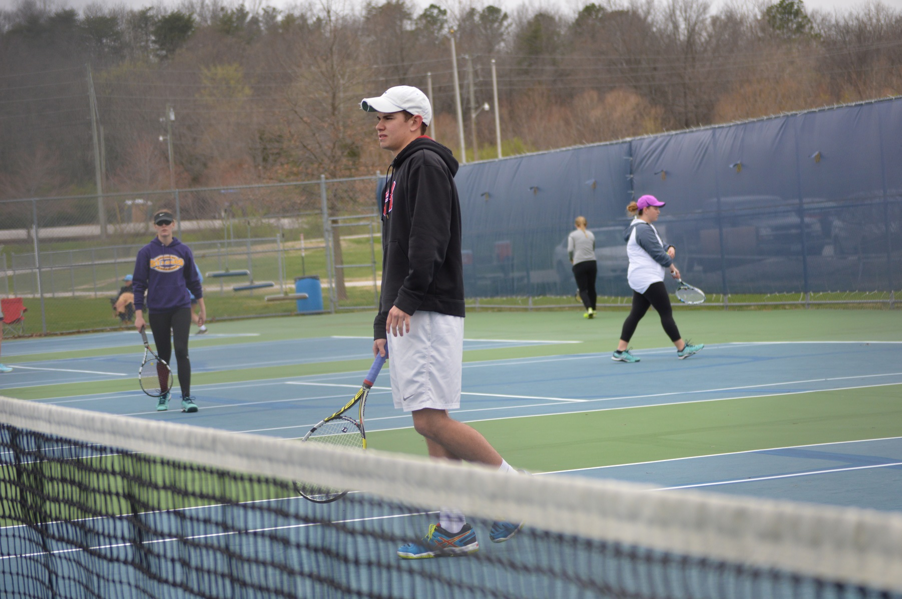 Tigers Edge Blue Jays in Close Dual Match
