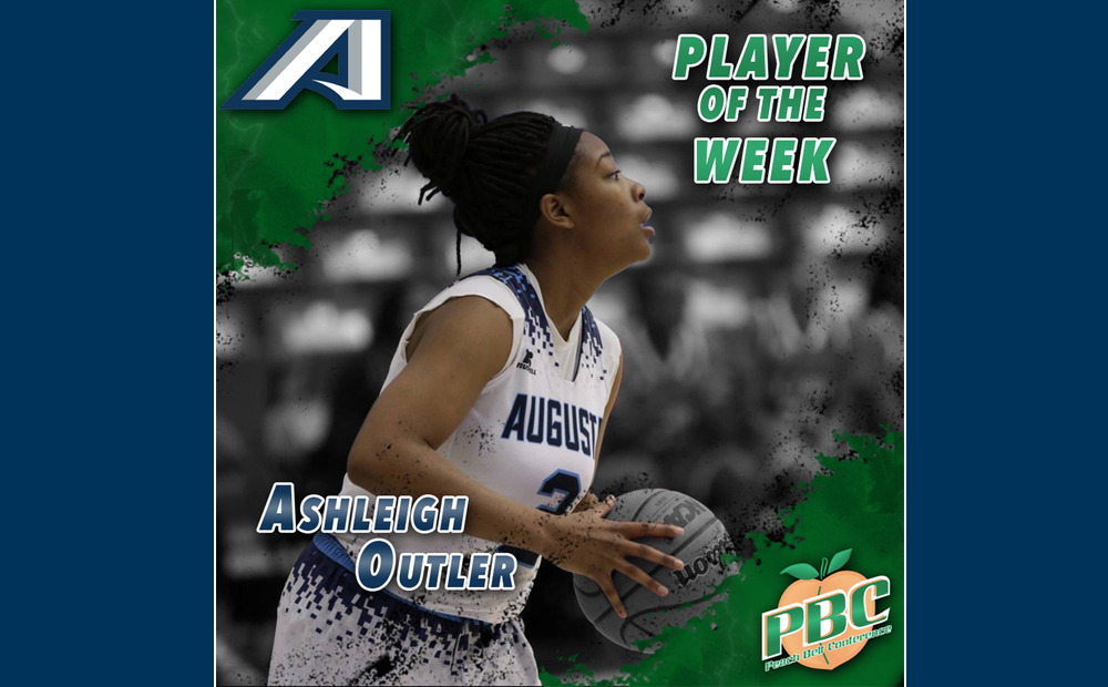 Outler Earns PBC Player Of The Week Honors