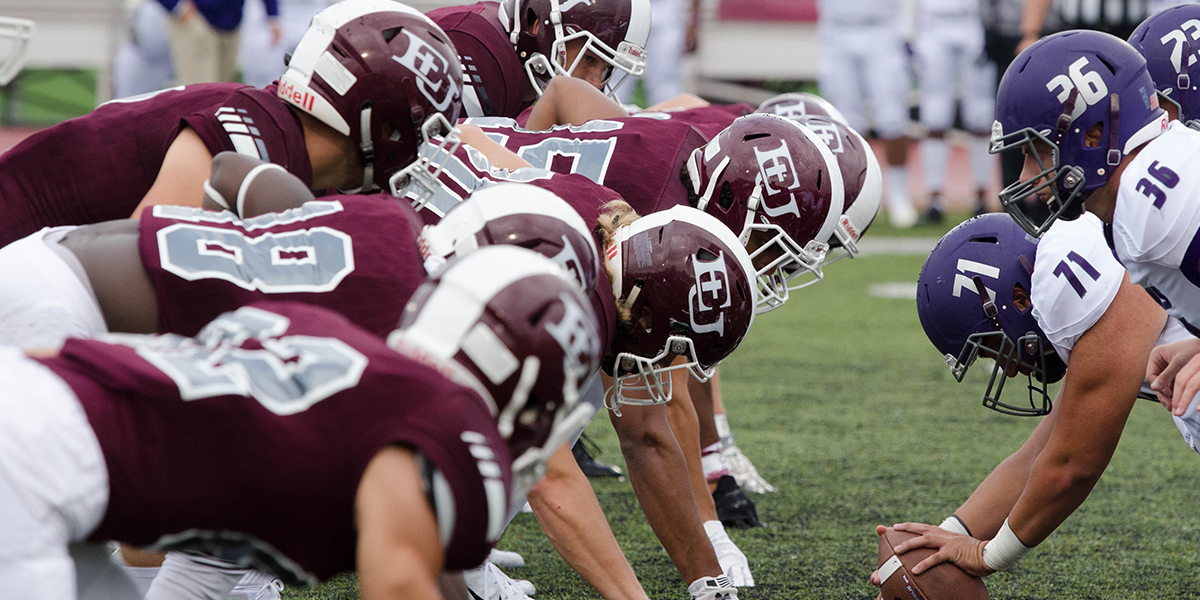 No. 9 Evangel Football Heads to Baker in Heart South Division Championship Battle on ESPN3