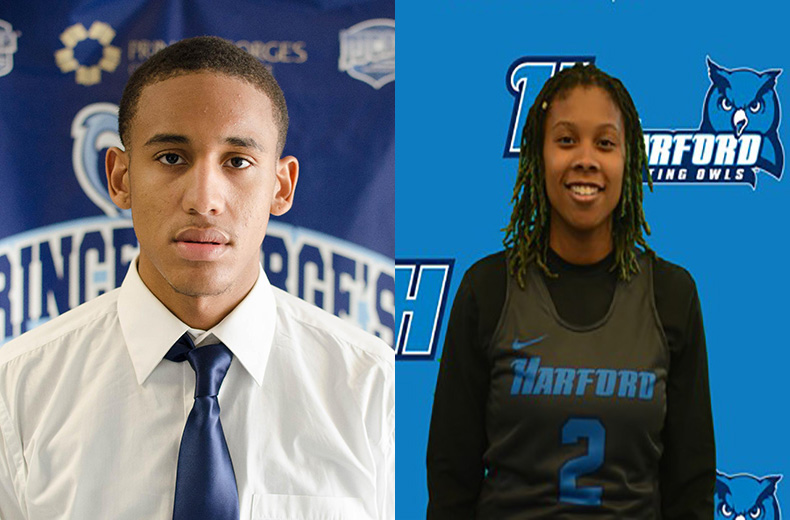 Morales, Harris Named Conference Student Athletes of the Month for February