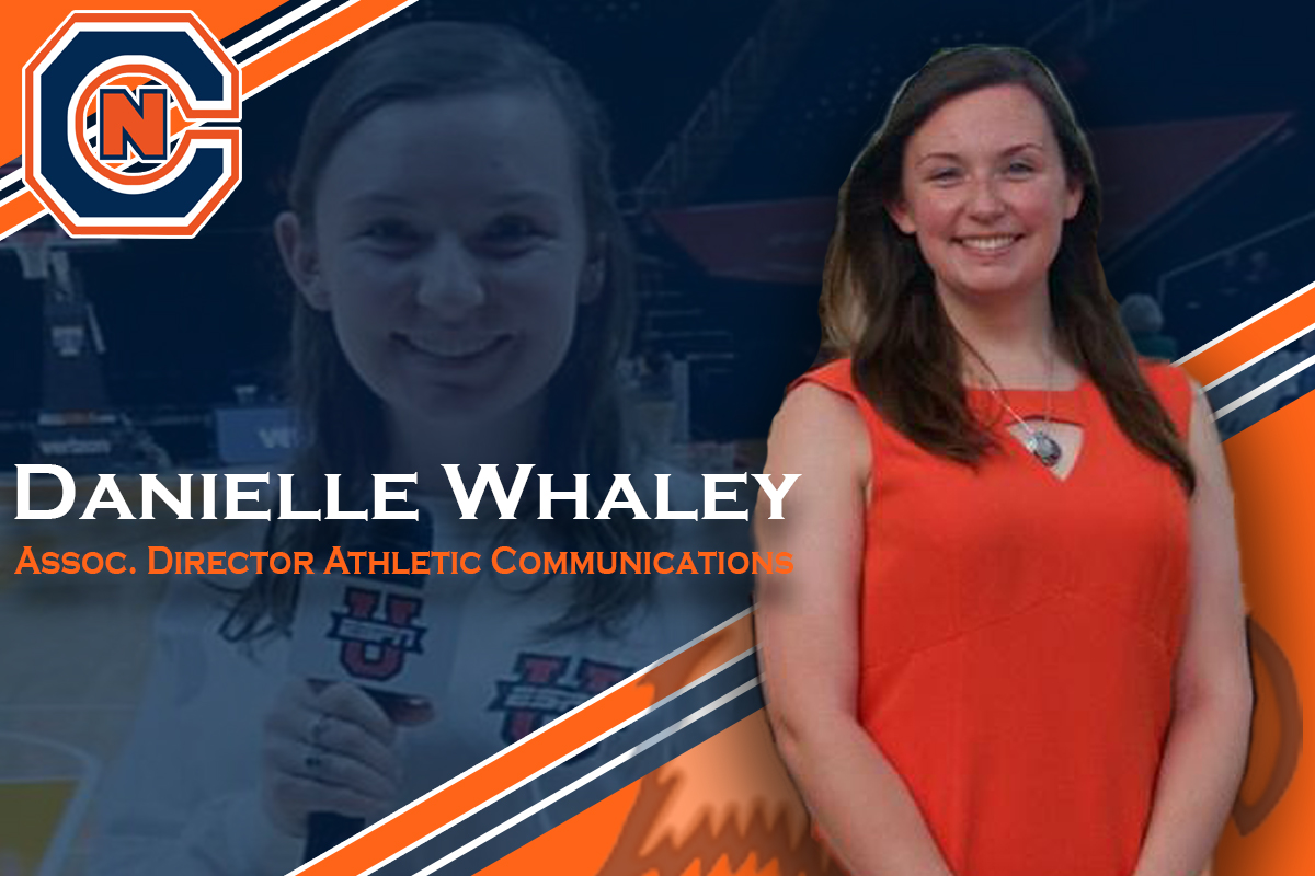 Cavalier announces Whaley as Associate Director of Athletic Communications