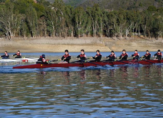 Men's Rowing Travels South to Compete in San Diego Crew Classic