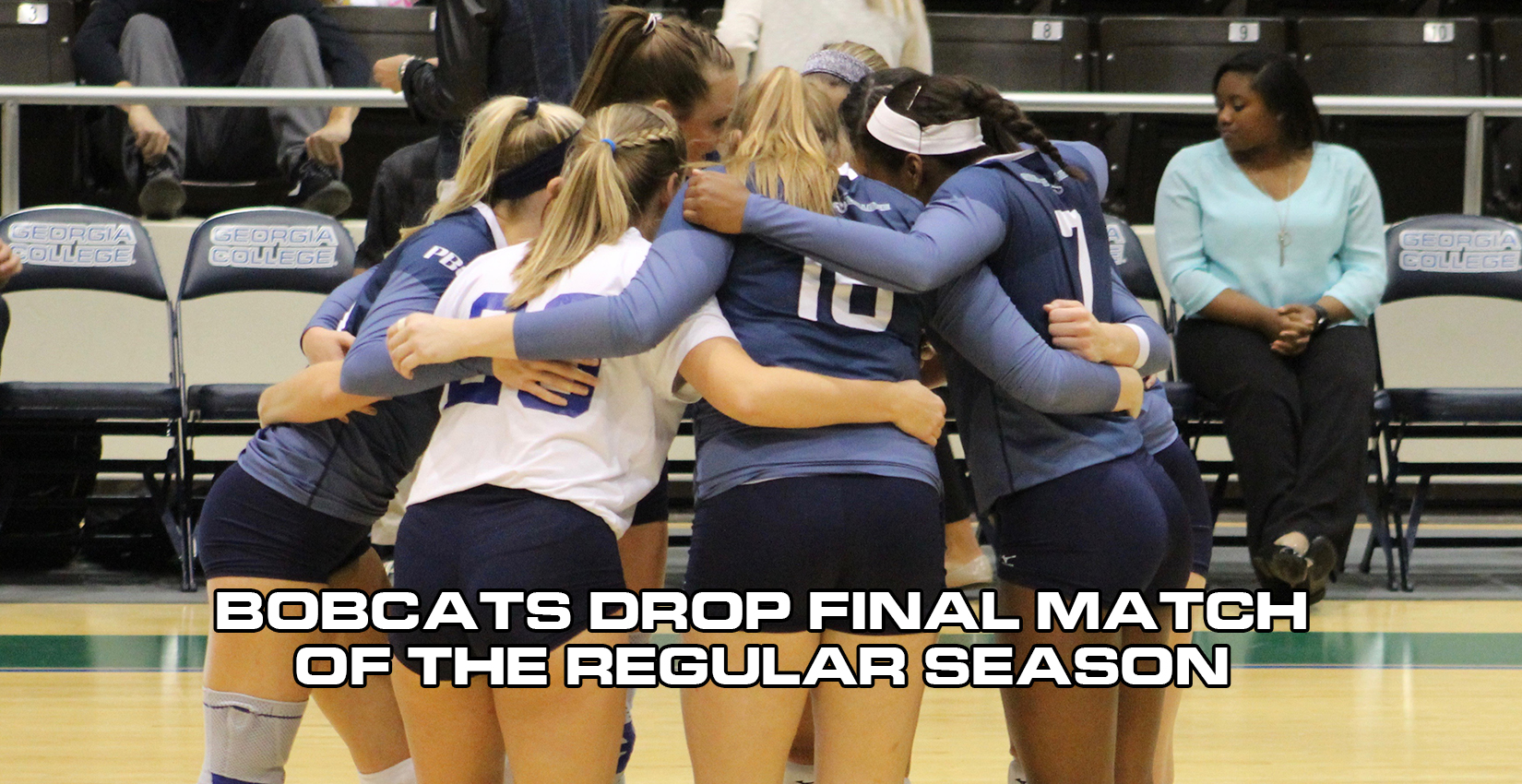 GC Volleyball Drops Final Match of the Season on the Road