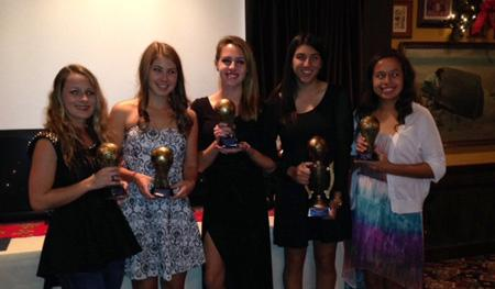 Women's soccer team holds end of the season banquet