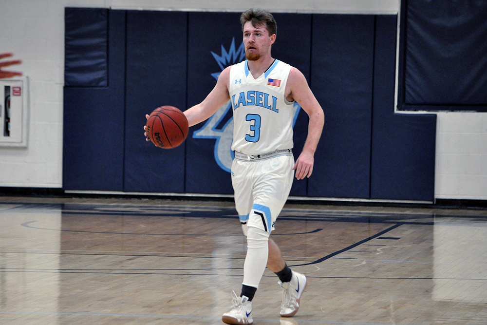 MBB: Lasell clinches play-off berth with victory over Anna Maria