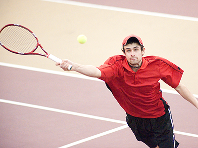 Men's Tennis Stays Unbeaten With Victory
