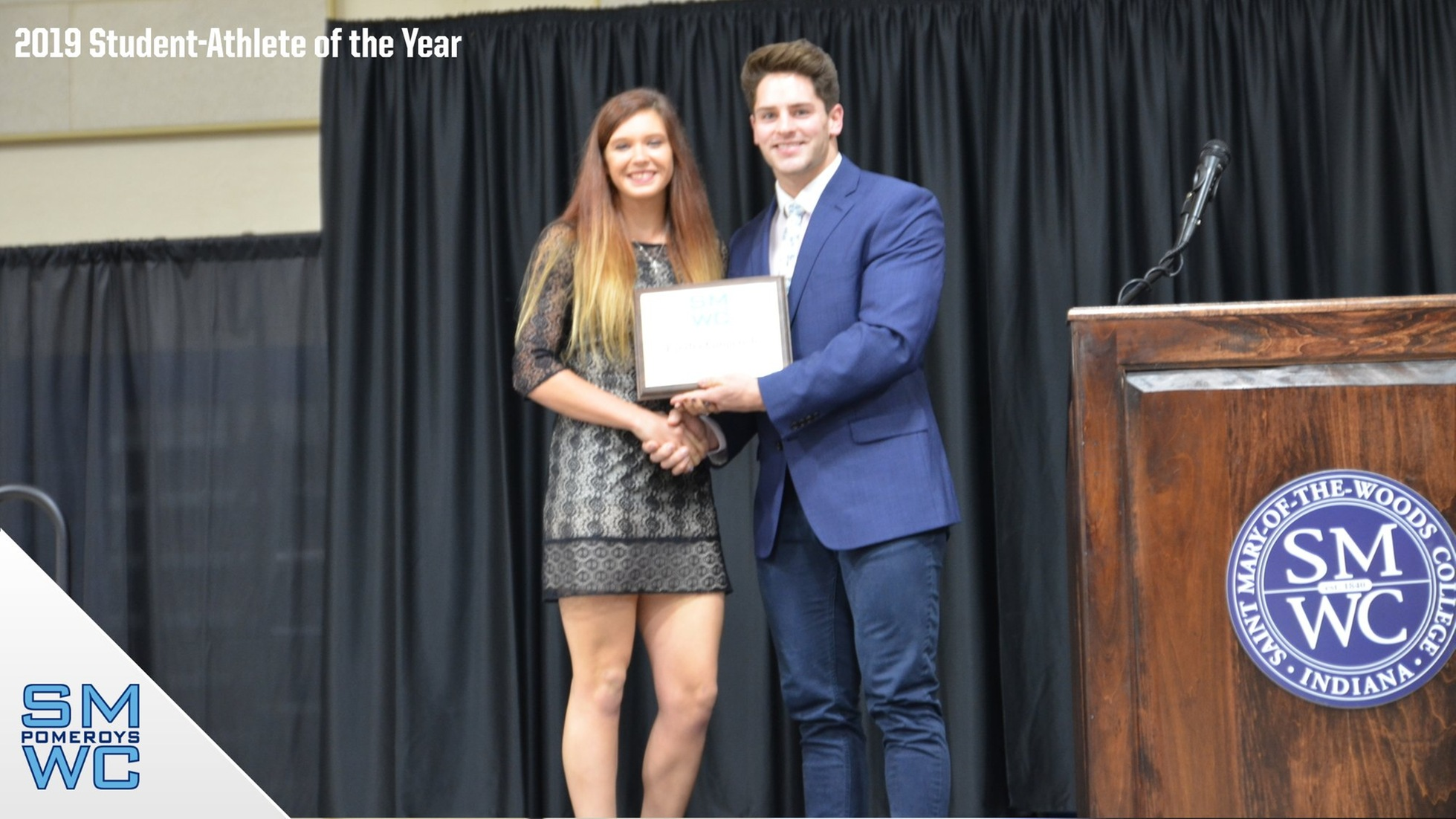 Kindra Gingerich Named Student-Athlete of the Year
