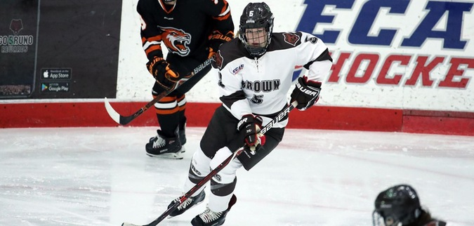 Brown Completes Weekend Sweep with Win Over Cornell