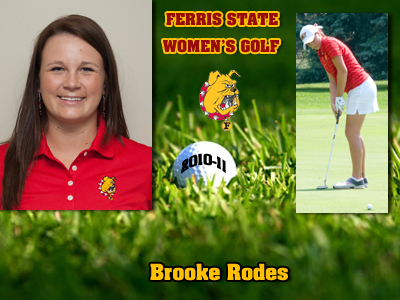 Ferris State Women's Golf Team Captain Named For 2010-11 Season