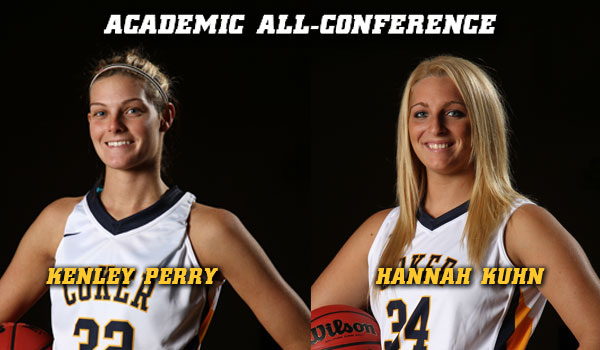 Kuhn, Perry Named Academic All-Conference