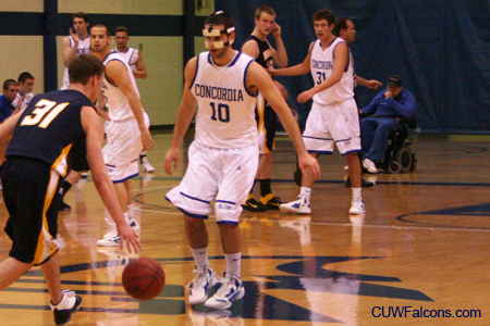 Men's Basketball begins stretch run for NAC North title Wednesday