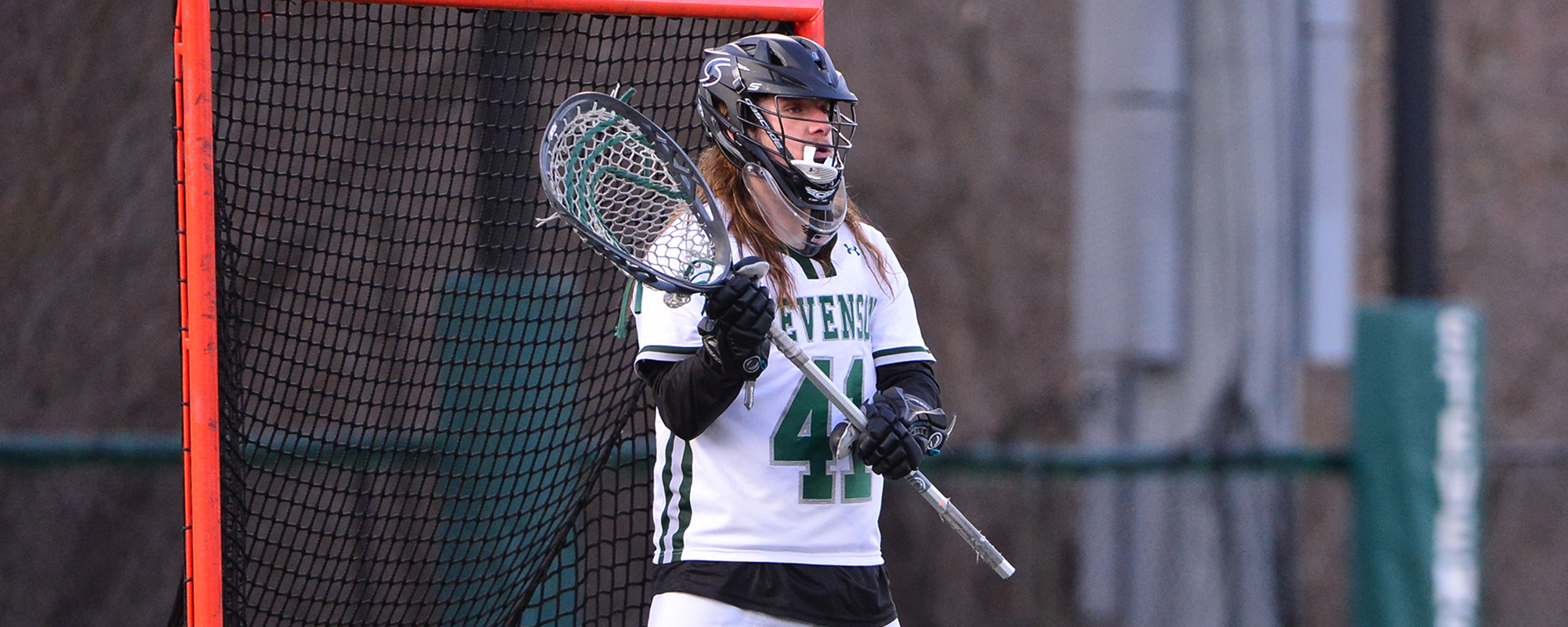 Poust Makes 17 Saves, Mustang Win Streak Stopped by No. 7 Cabrini
