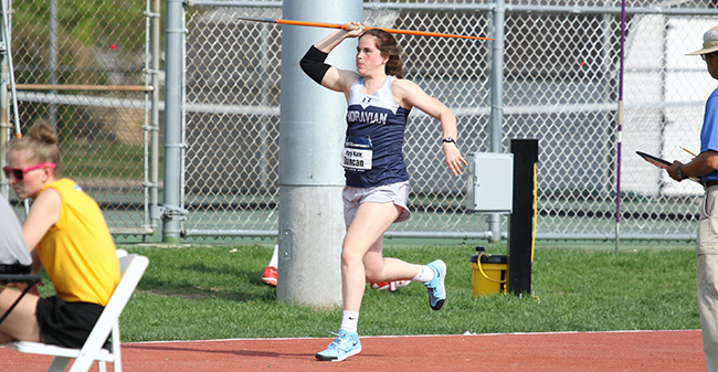 Mary Kate Duncan '18 competes in the 2018 NCAA Division III National Championships.