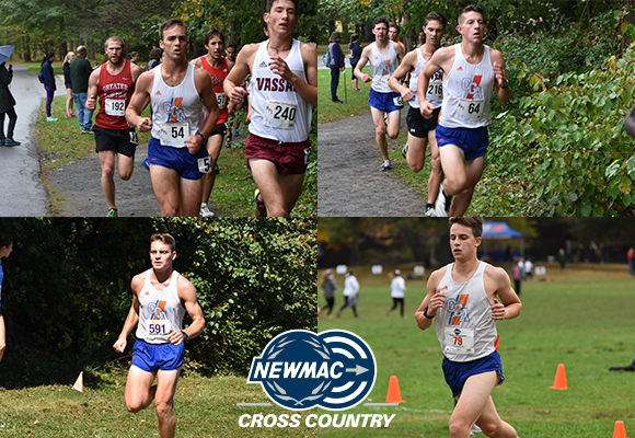 Men's Cross Country Places Four on NEWMAC All-Academic Team