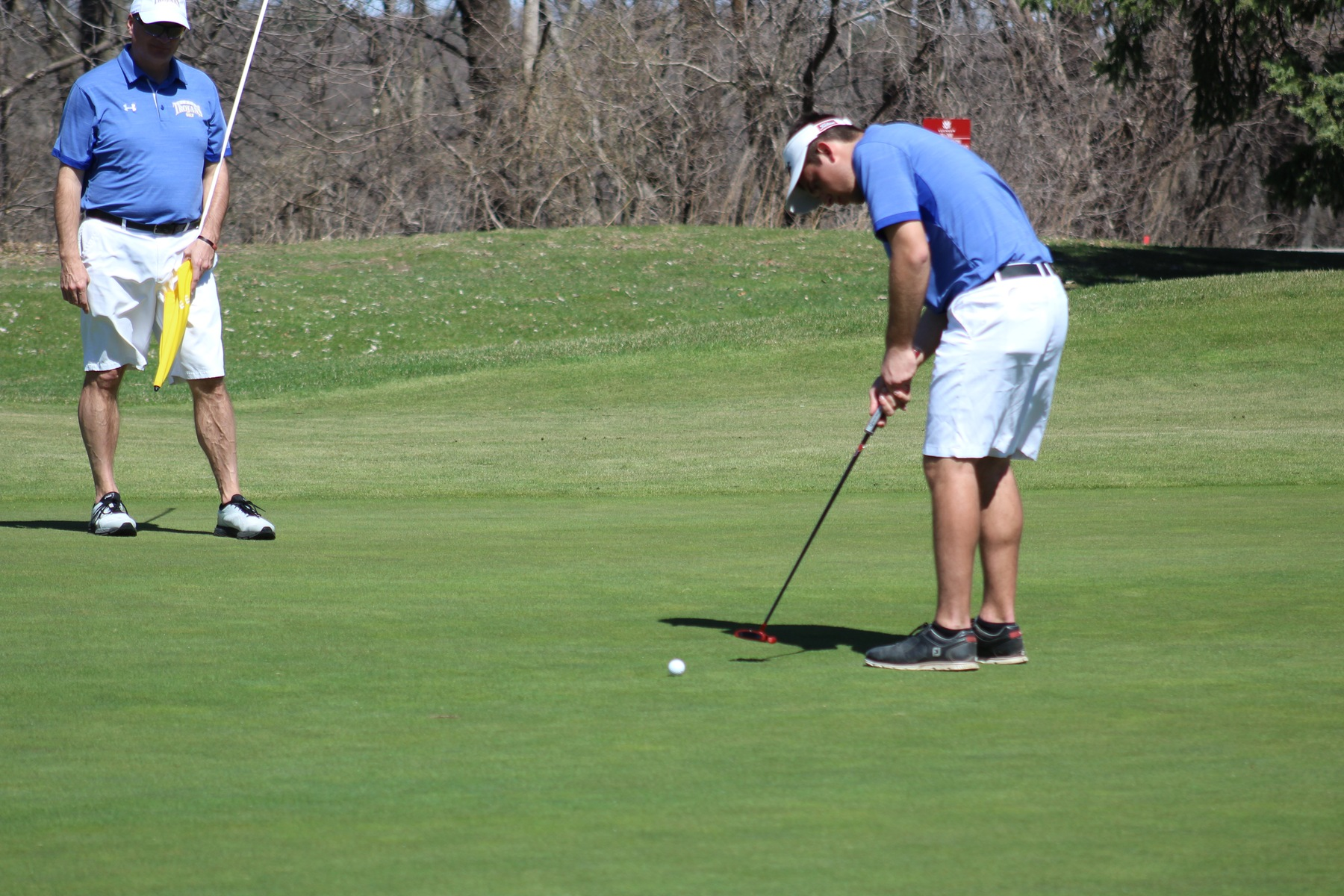 Austin Eckenrod led the Trojans with a 79 at Monday's retional preview tournament in Ames.