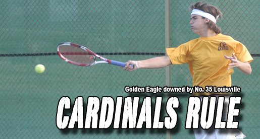 Louisville claims 6-1 match over Golden Eagles