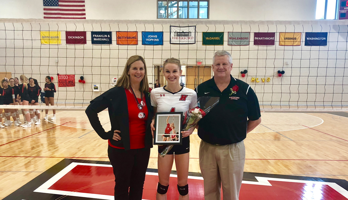 Volleyball Sweeps Senior Day Tri-Match with wins over Dickinson, Manhattanville