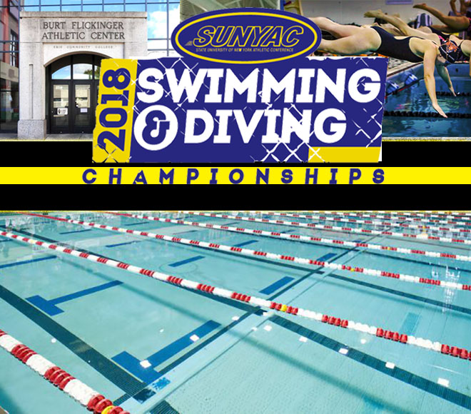 Feature Friday: 2018 SUNYAC swimming and diving championships