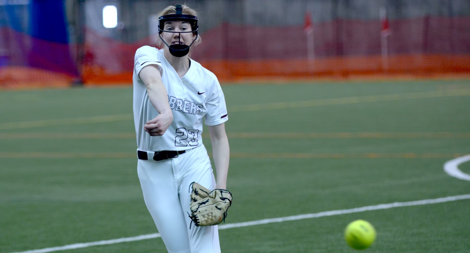 Freshman Megan Gavin continued her recent string of solid outings as she only allowed two runs and struck out three in her MIAC debut against Macalester.