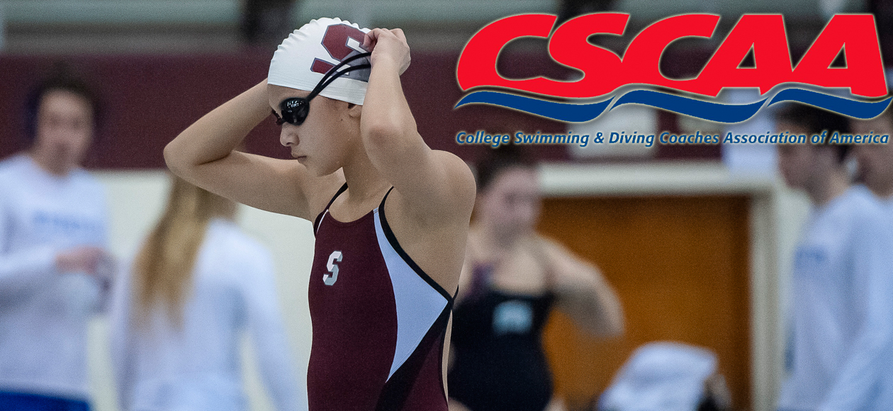 Women's Swimming and Diving Named CSCAA Division III Scholar All-America Team